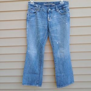 |American Eagle| Jeans Blue Denim Distressed